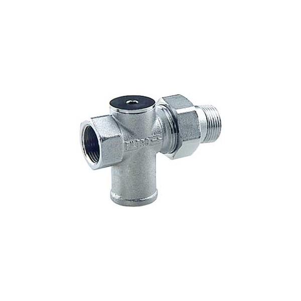 Filtro cromato 3/4 con rubinetto di arresto incorporato FAR art.3925