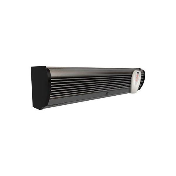 Barriera d'aria lama Vortice AIR DOOR AD900 90 cm alluminio satinato