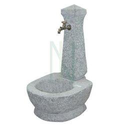 Fontana pietra granito grigia