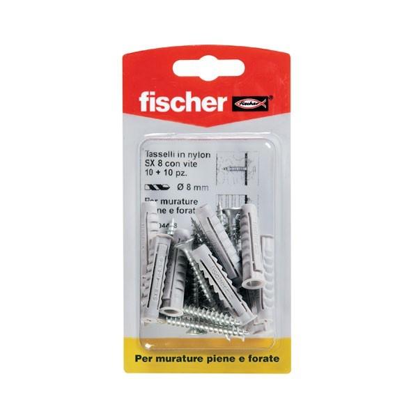 Tasselli in nylon SX 8 SK Fischer - 04418