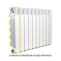 Radiatore alluminio DESIDERYO B3 Nova Florida 800/100 Bianco