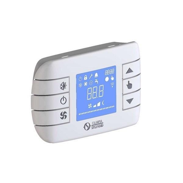 Kit Cronotermostato LCD a Muro Broadcast - B0736