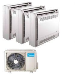 Climatizzatore Midea Console Trial Split 9000+9000+9000 3N-79K