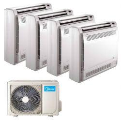 Climatizzatore Midea Console Quadri Split 9000+9000+12000+12000 4N-105K