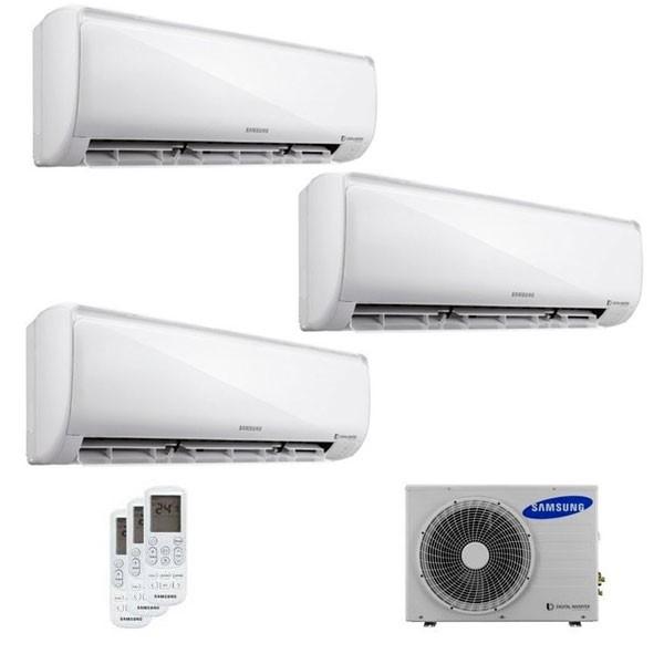 Climatizzatore Samsung Trial Split MALDIVES 7000+7000+7000 con AJ052FCJ Smart WiFi 7+7+7 - 2018