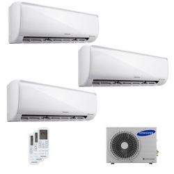 Climatizzatore Samsung Trial Split MALDIVES 7000+7000+9000 con AJ052FCJ Smart WiFi 7+7+9 - 2018
