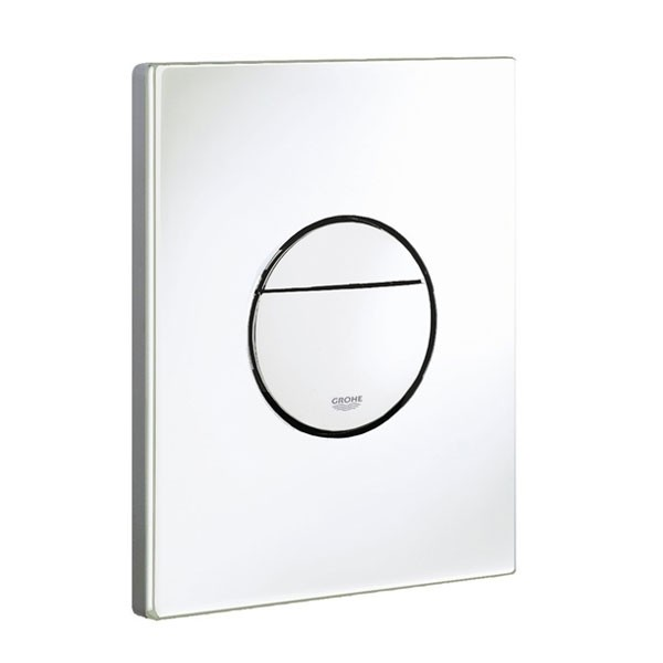 placca bianca nova cosmopolitan grohe 38765sh0. Black Bedroom Furniture Sets. Home Design Ideas