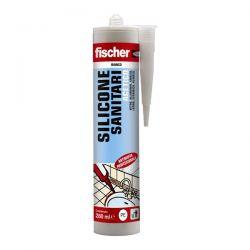 Silicone Acetico Sanitari Fischer Bianco