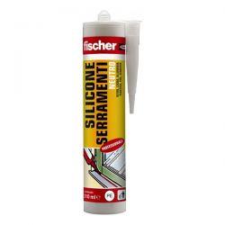Silicone Neutro Serramenti Fischer Bianco