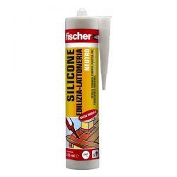 Silicone Neutro Edilizia-Lattoneria Fischer Nero