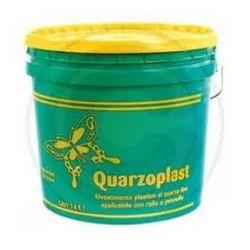 Pittura Quarzoplast bianco Lt 14