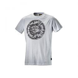 T-Shirt da lavoro Diadora Graphic Bianco Ottico - 702.161760