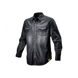 Camicia da lavoro Diadora Shirt Denim New Black Washing - 702.171663
