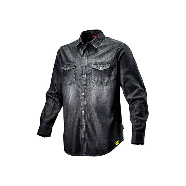 Camicia da lavoro Diadora Shirt Denim New Black Washing - 702.171663