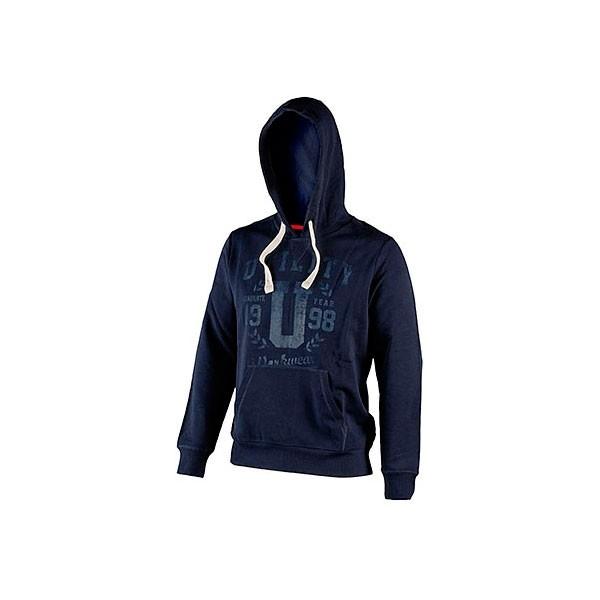 Felpa con cappuccio Diadora Sweatshirt Hood Graphic Blu Corsaro - 702.171665