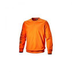 Felpa Diadora Sweatshirt Falcon II Arancio Vermiglio - 702.171661