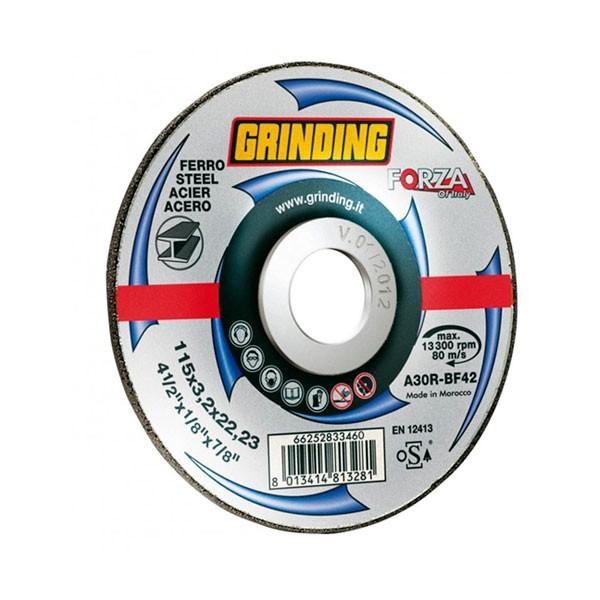 Disco Ferro Grinding Forza 115x3,2