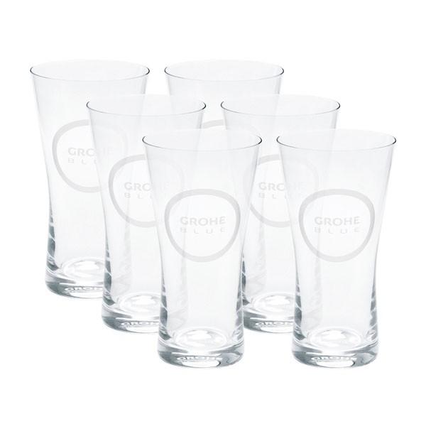 Bicchieri in Cristallo Grohe 40437000 250 ml - 6 pezzi
