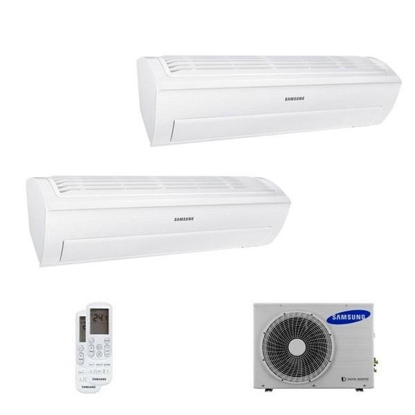 Climatizzatore Samsung Dual Split AR5500 9000+9000 con AJ040MCJ 9+9