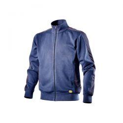 Felpa con zip Diadora Armeric II Blu Corsaro - 702161206