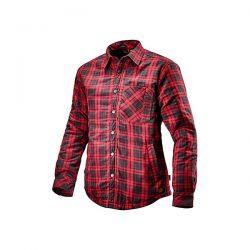 Camicia da lavoro Diadora Padded Shirt Nero/Rosso - 702.172758