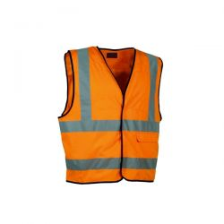 Gilet Alta Visibilità Safe Driver Arancio - TG XL