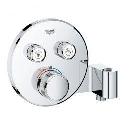 Miscelatore Termostatico Grohe Grohtherm SmartControl 2 vie con supporto manopola doccia - 29120000