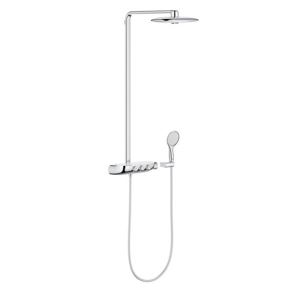 colonna doccia grohe 26250000 rainshower system smartcontrol 360 duo. Black Bedroom Furniture Sets. Home Design Ideas