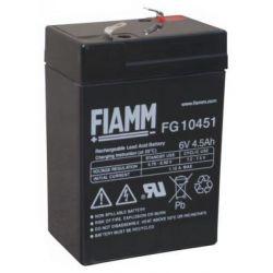 Batteria ermetica al PB 6V 4,5 Ah