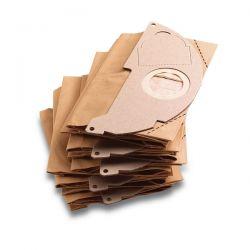 Sacchetti Filtri in Carta per Karcher WD2 - 6.904-322.0