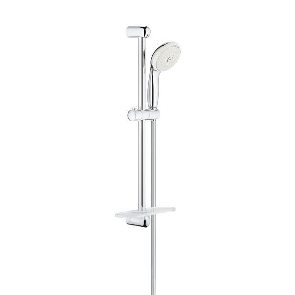 Asta doccia saliscendi a 3 getti con porta sapone new - Porta saponi doccia ...