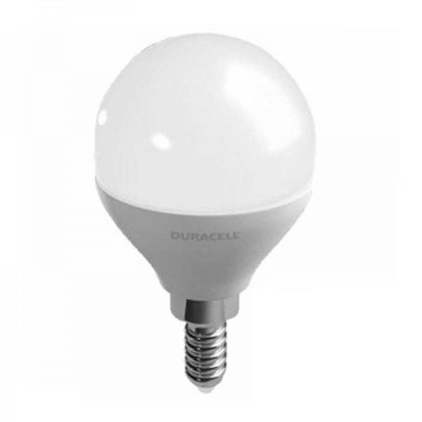 Lampadina Led Sfera E14 - 6w 6500k Duracell Lighting