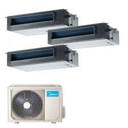 Climatizzatore Midea Console Trial 12000+12000+12000 M30-27FN8-Q R 32
