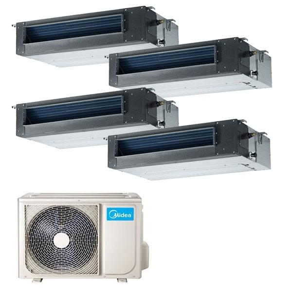 Climatizzatore Midea Console Quadri 12000+12000+12000+12000 M40-36FN8-Q R-32
