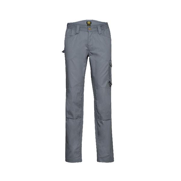 Pantalone da lavoro Diadora Rock Light Cotton Grigio Acciaio - 702.175342