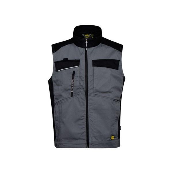 Gilet Diadora Shell Vest Level Grigio Acciaio - 702.174586