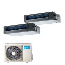 Climatizzatore Midea Console Dual 12000+12000 M20-18FN8-Q R32