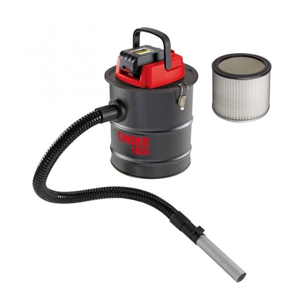 Bidone Aspiracenere a Batteria Valex 10 litri Cinder 1820