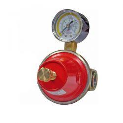 Regolatore Gas con Manometro 12-18 Kg/h Clesse - 002205