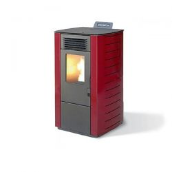 Stufa a Pellet King 78 Bordeaux 160 m3 6,9 kW - 9765