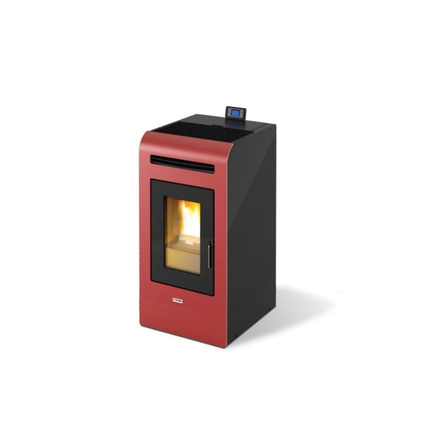 Stufa a Pellet King 16 Bordeaux 380 m3 16,3 kW - 94348