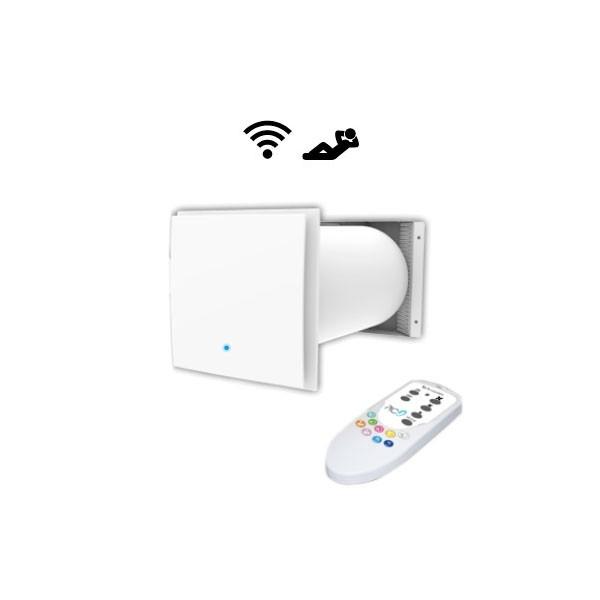Aspiratore d'aria con recupero di calore PICO HP2 30 + telecomando Tecnosystemi