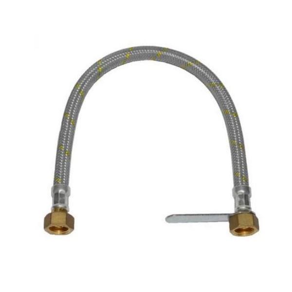"""Flessibile per Centralina Gas 1/2"""" F/F 50 cm"""