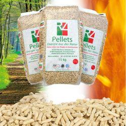 Pellet Austriaco RZ Pellets Abete Bianco 15 Kg da 72 Sacchi