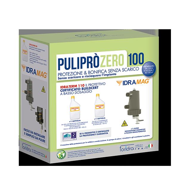 Defangatore Magnetico PuliPrò Zero 100 K Foridra