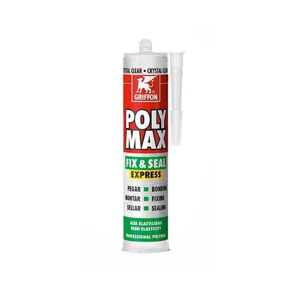 Adesivo Sigillante Griffon Poly Max Express Bianco - 425 gr