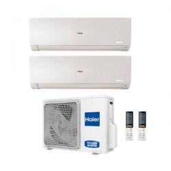 Climatizzatore Haier Dual Split Flexis Bianco 7000+12000 2U40S2SC1FA R-32 A++/A+ 7+12