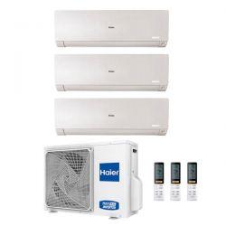 Climatizzatore Haier Trial Split Flexis Bianco 7000+7000+12000 3U55S2SR2FA R-32 A++/A+ 7+7+12