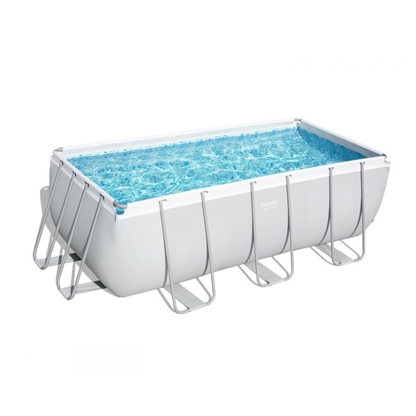 Piscina Bestway Power Steel Rettangolare cm 404x201x100h - 56441