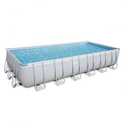 Piscina Bestway Power Steel Rettangolare cm 671x366x132h - 56471